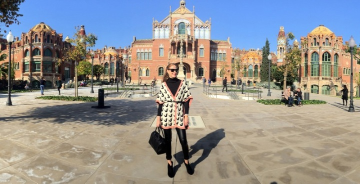 Colourvibes at Recinte Modernista Sant Pau