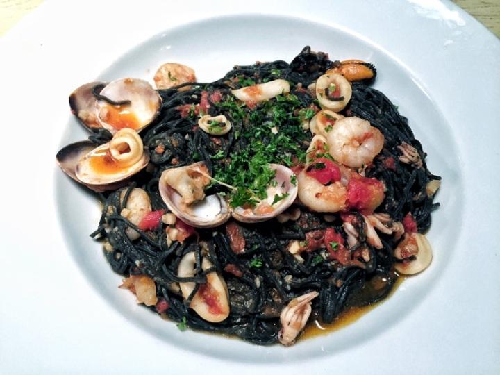 Spaguetti al frutti di mare