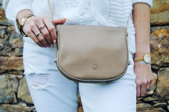 CH nude bag