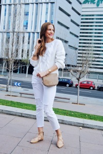 White look and nude