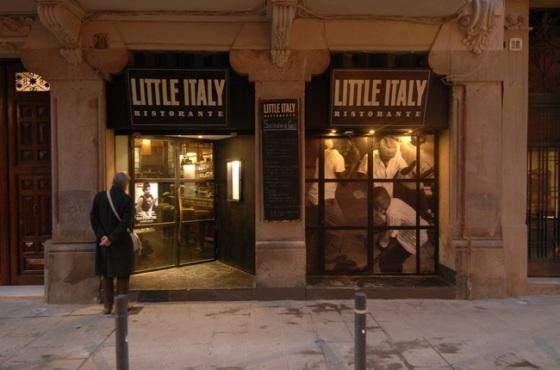 Restaurante Little Italy Barcelona