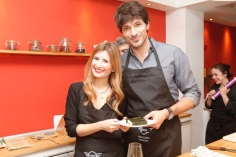 Rebeca Labara and Andrés Velencoso