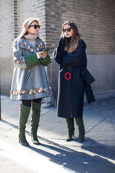 Fashion Week NYC Street Styles FW16