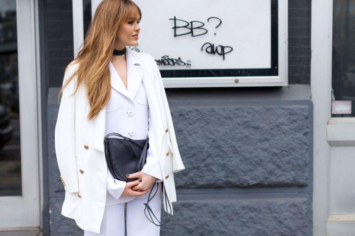 Kristina Bazan street style NYFW FW16