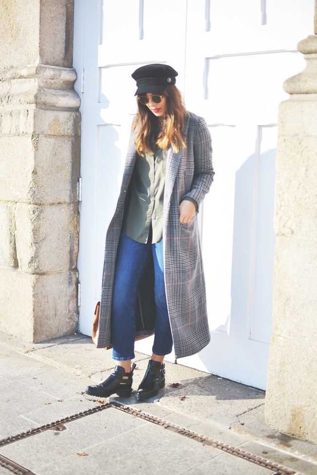 Long coat look