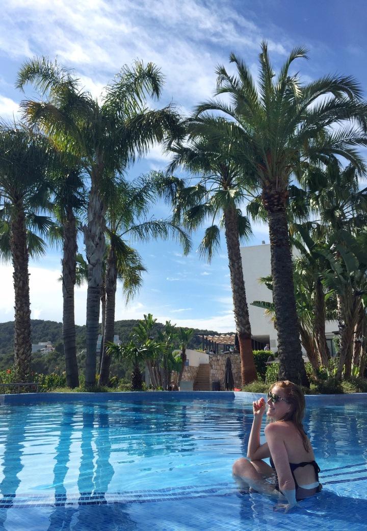 piscina en Dolce Sitges