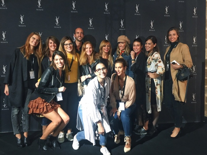Bloggers at Facial Party 2016