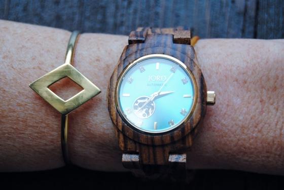 Reloj Cora Zebrawood de Jord