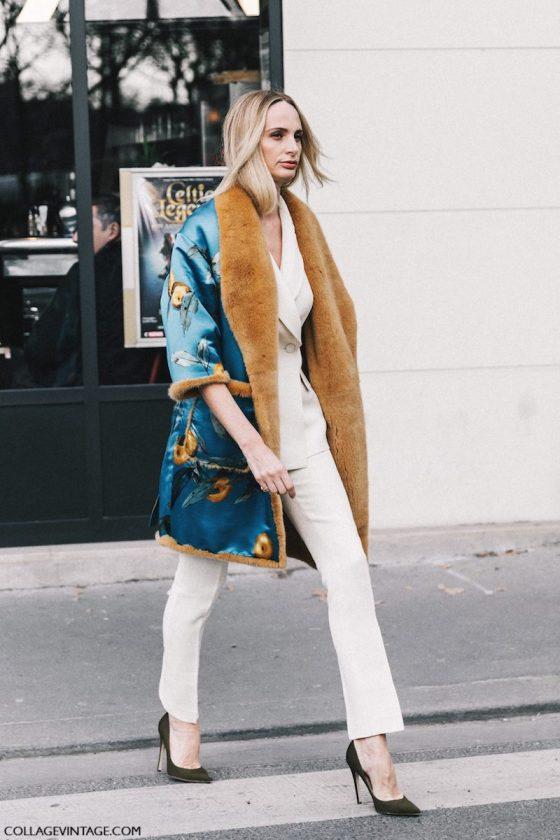 Street style haute couture Paris 2017