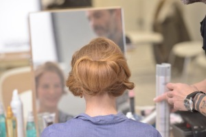 hairdo for Gaudi awards
