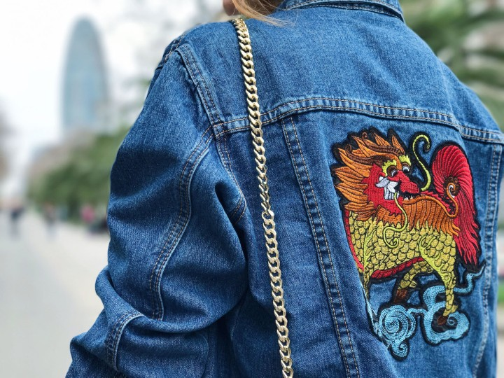 OVS embroidered jacket