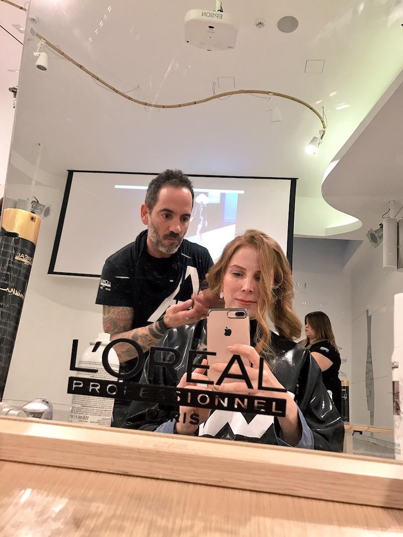 peinado con L'Oreal Professionel