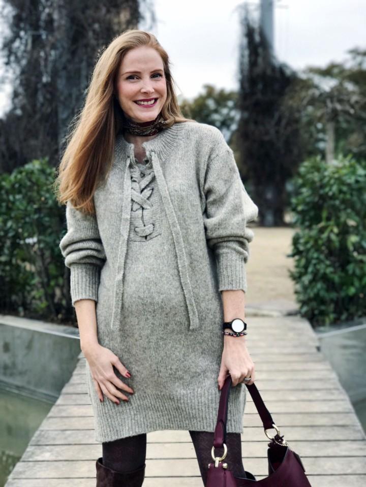 Vestido Oversize de Zara