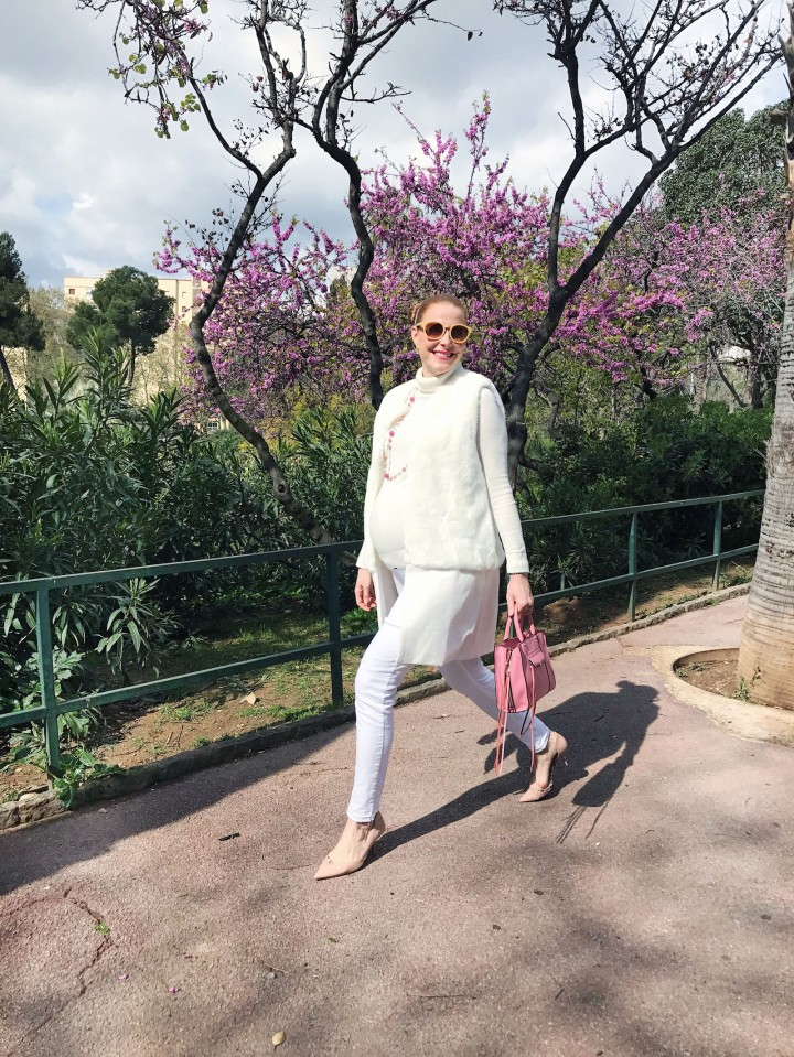Colourvibes white total look