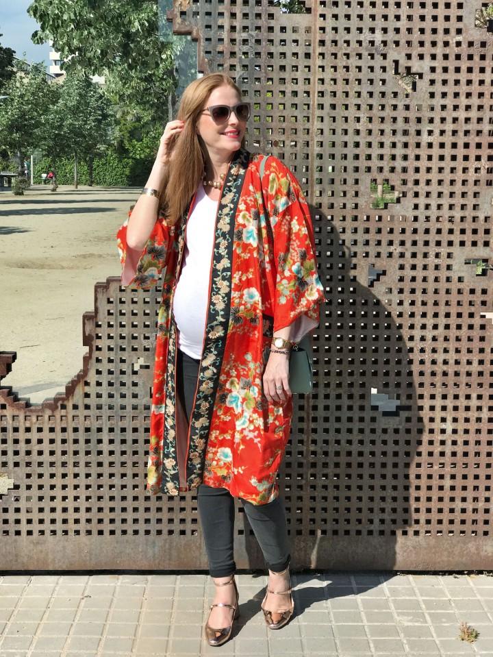 Look-premama-con-kimono