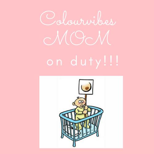 Colourvibes mom on duty!