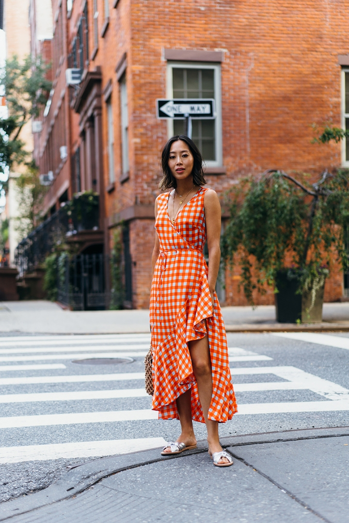 aimee_song_of_style_dvf_wrap_dress_loeffler_randall_sandals