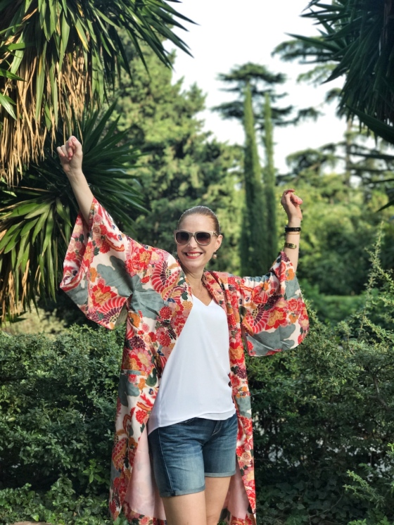 Kimono-outfit
