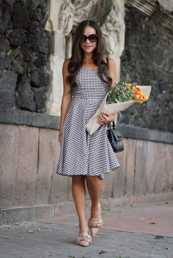 Moda-capital-gingham-dress