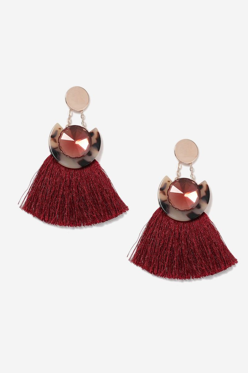tassel-drop-earrings-Topshop