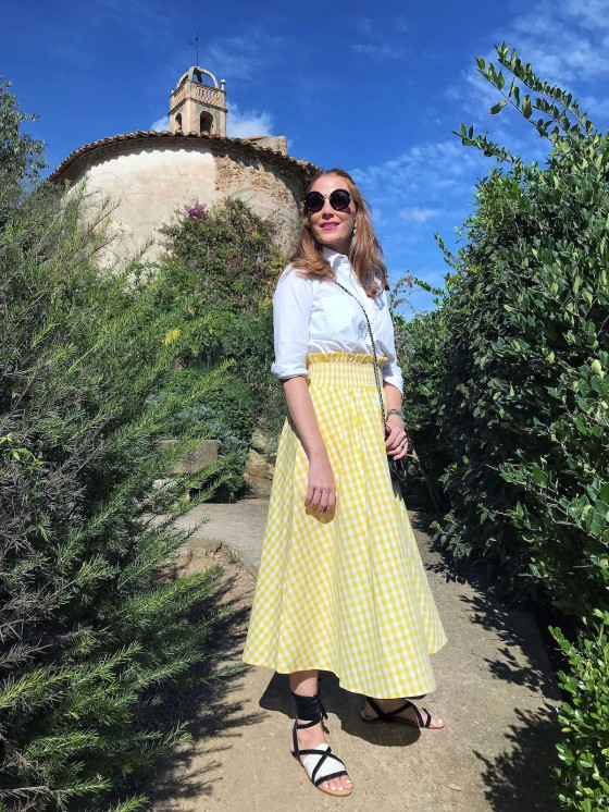 gingham-yellow-skirt