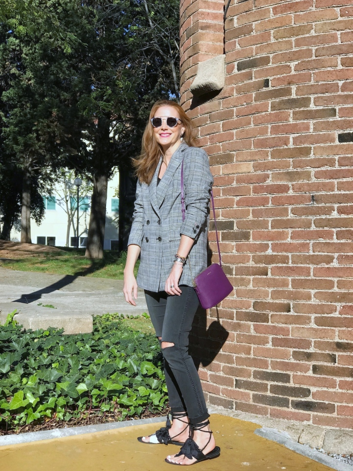Casual look with blazer