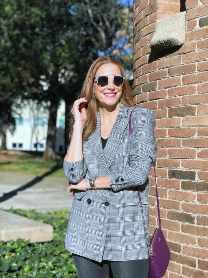 Look casual con blazer