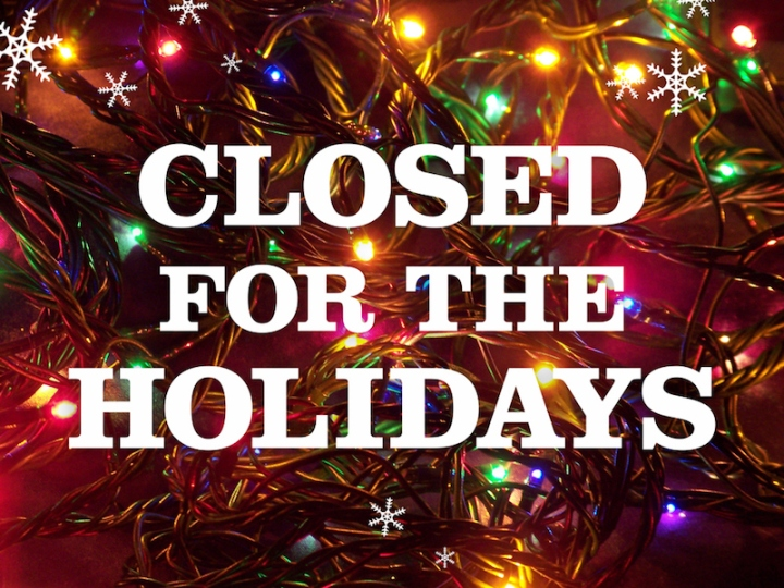 Closed-For-The-Holidays