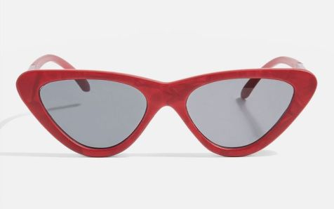 Point-Polly-cat-eye-sunnies-red marble