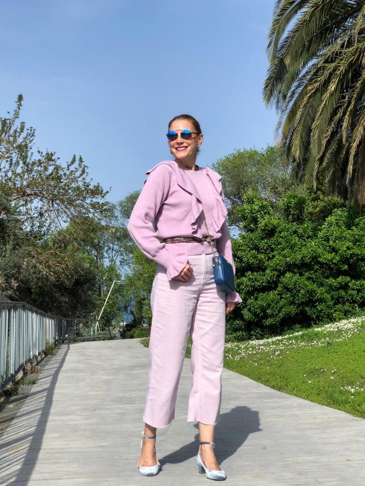 Ultra violet culottes