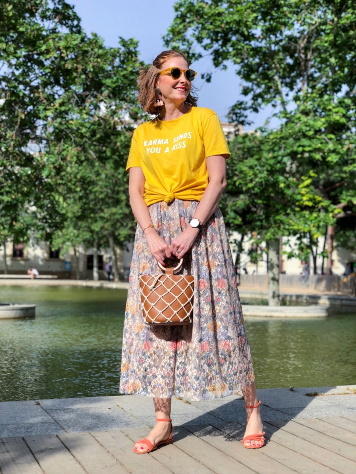 floral-skirt-look