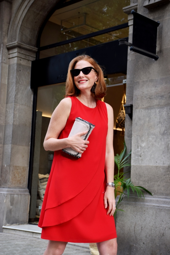 Colourvibes wearing AnnaMoraBrunella dress