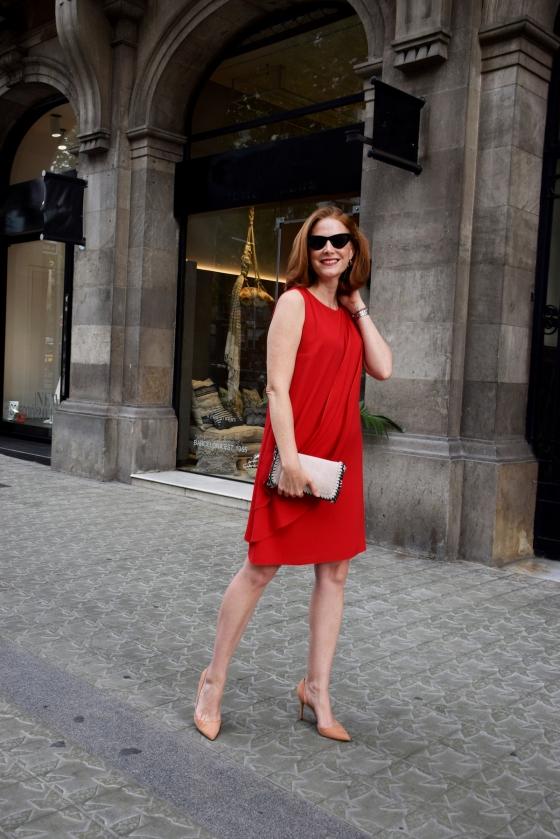 Vestido-rojo Anna-Mora-Brunella
