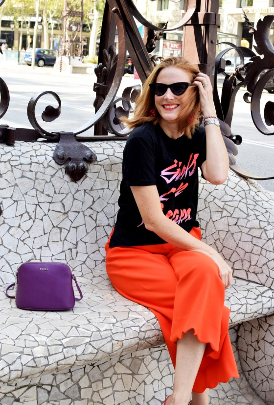 sandro-tshirt-and-uterque-culottes
